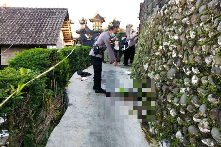 Penemuan mayat bayi di Buleleng Bali
