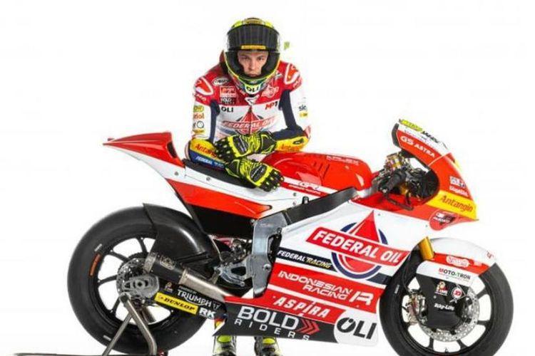 Livery tim Federal Oil Gresini Moto2 untuk musim 2021
