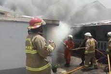 4 Rumah di Kompleks Kostrad Kebayoran Lama Terbakar, 2 Orang Terluka Bakar