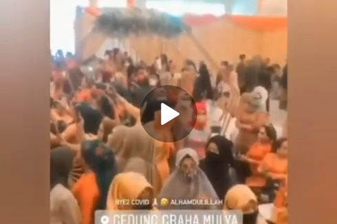 Cerita di Balik Video Ibu-ibu Berjoget Tanpa Masker di Acara Resepsi, Polisi Turun Tangan