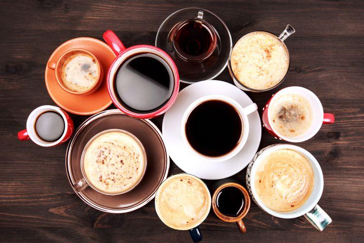 Ilustrasi cangkir kopi