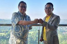 Setelah AHY, Ridwan Kamil Bertemu Airlangga Hartarto