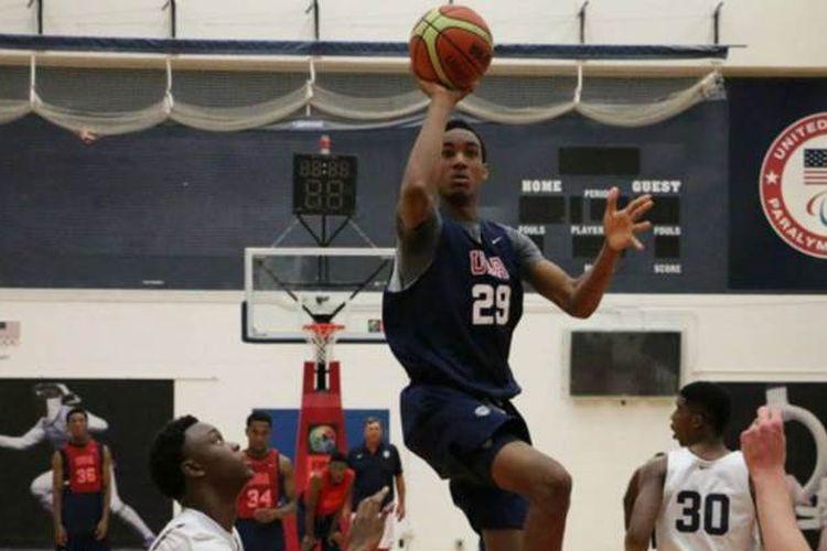 Bola basket SMA di Amerika Serikat