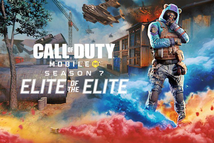 Poster Call of Duty Mobile Season 7 menampilkan penyanyi rapper Ozuna.