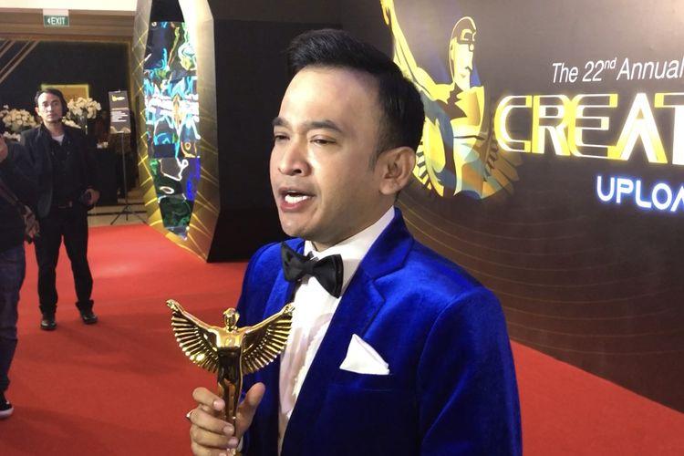 Ruben Onsu saat ditemui di di The Tribrata Dharmawangsa, Jakarta Selatan, Jumat (6/12/2019).