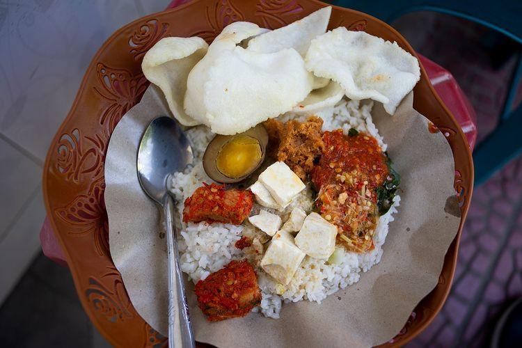 Sego cawuk, kuliner khas Banyuwangi DOK. Shutterstock