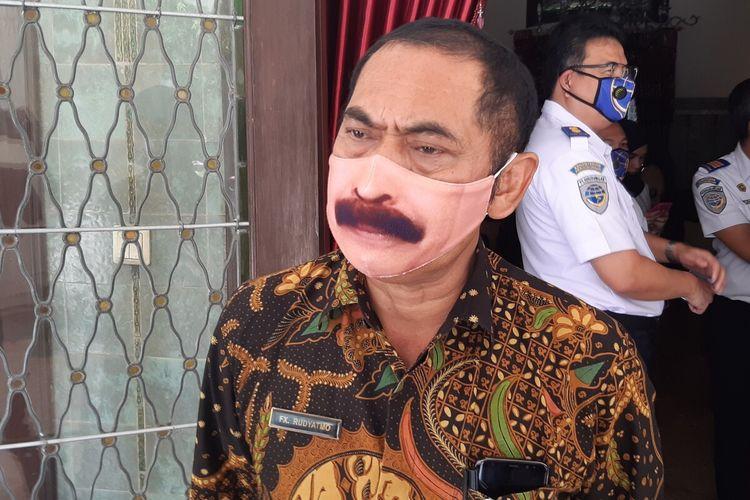 Wali Kota Solo, FX Hadi Rudyatmo ditemui di Loji Gandrung Solo, Jawa Tengah, Kamis (11/6/2020).