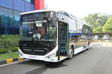 Bakrie Bakal Pasok 30 Unit Bus Listrik ke Transjakarta