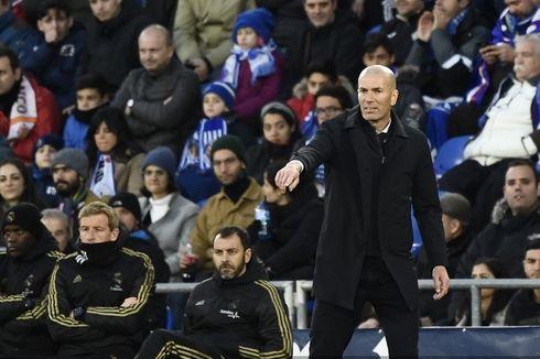 Real Madrid Vs Atletico Madrid, Zidane Tegaskan Timnya Siap Menang