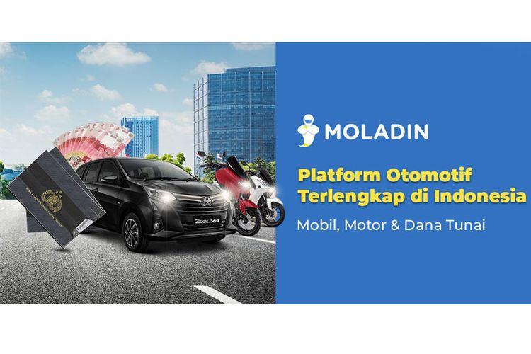 Moladin, platform otomotif terlengkap di Indonesia.