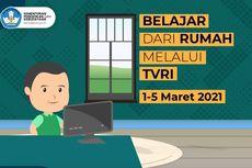 Jadwal TVRI Belajar dari Rumah Hari Ini, Selasa 2 Maret 2021