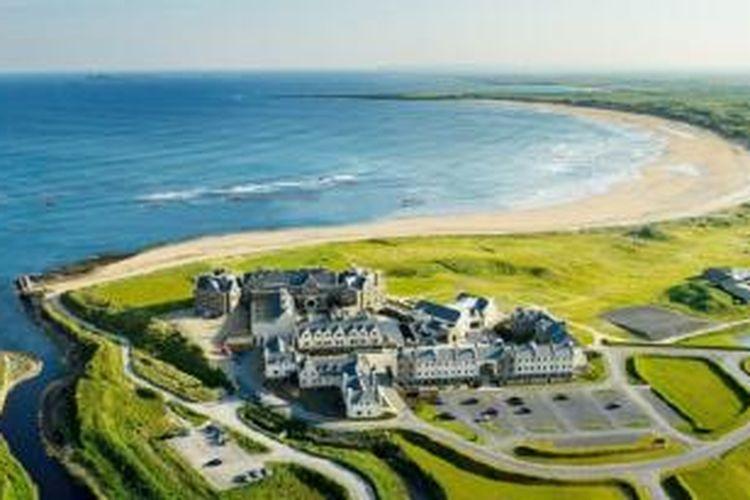 Trump International Hotel mengakuisisi aset lahan klub golf dan resor di Irlandia.