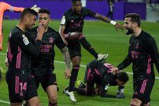 Hasil Valladolid Vs Real Madrid - Menang Tipis, Los Blancos Dekati Puncak Klasemen