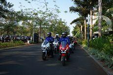 Komunitas Motor Honda Bekasi Jajal ADV 150