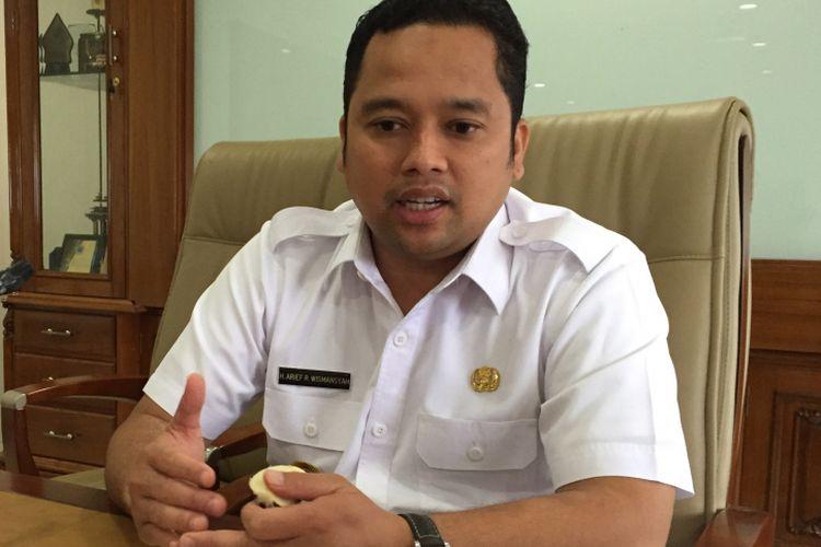Wali Kota Tangerang Arief R Wismansyah saat di kantornya, Rabu (9/8/2017).