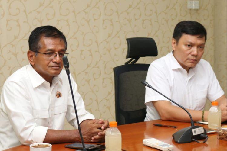 Wakil Menteri ATR/BPN Surya Tjandra mengunjungi kantor Pertanahan Kota Bekasi pada Kamis (2/1/2020).