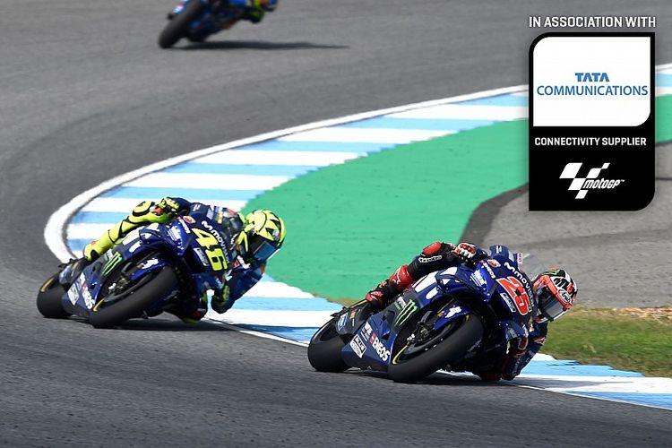 Yamaha bangkit di GP Thailand 2018.
