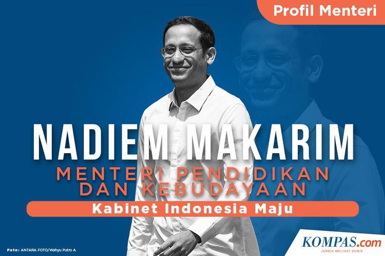 Profil Menteri, Nadiem Makarim Menteri Pendidikan dan Kebudayaan