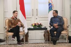 Temui Anies Baswedan, Eks Pebalap F1 Dukung Gelaran Formula E di Jakarta
