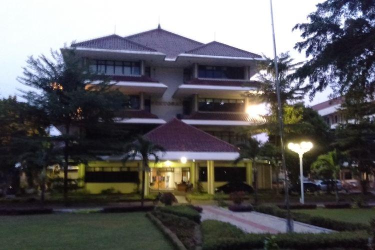 Kampus Universitas Pancasila, Jagakarsa, Jakarta Selatan, Jumat (6/12/2019)