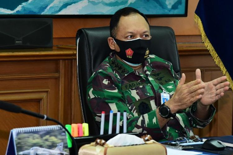 Air Force chief of staff (KSAU) Air Chief Marshal Fadjar Prasetyo.
