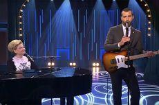 Presenter TV di Rusia Lawan Virus Corona dengan Lagu