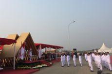 Gubernur Anies Jadi Inspektur Upacara HUT ke-74 RI di Pulau D Reklamasi