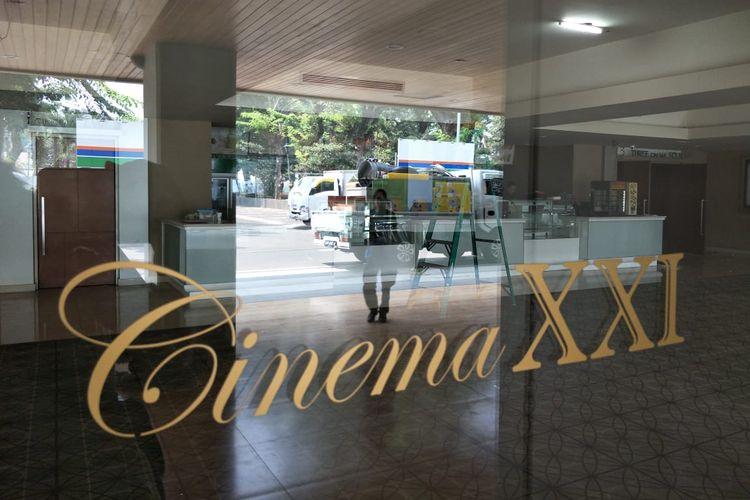 Ilustrasi bioskop XXI
