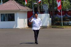 Berkemeja Putih, Syahrul Yasin Limpo Tiba Istana