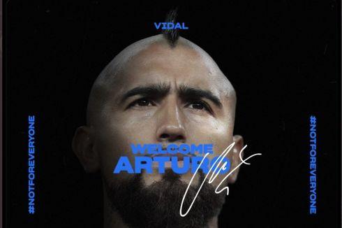 Resmi, Arturo Vidal Jadi Pemain Ke-6 Cile di Inter Milan