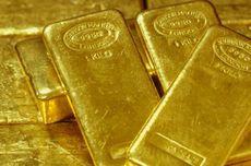 Harga Emas Dunia Kembali Turun