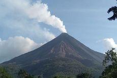 Luncuran Guguran Lava Gunung Karangetang Capai 2.000 Meter
