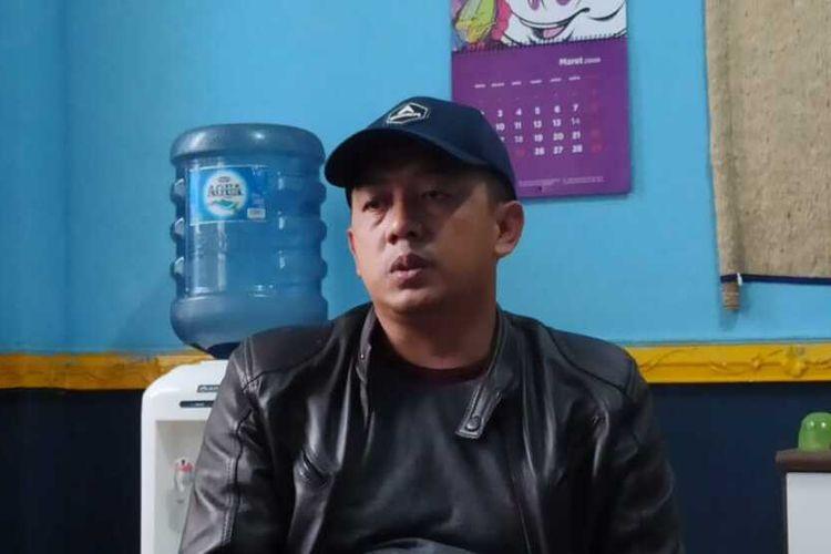 Ketua Organda Kabupaten Garut, Yudi Nurcahyadi saat ditemui di Kantor Organda Kabupaten Garut, Kamis (11/06/2020)