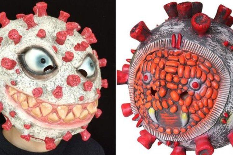 Topeng virus corona yang dijual di Amazon