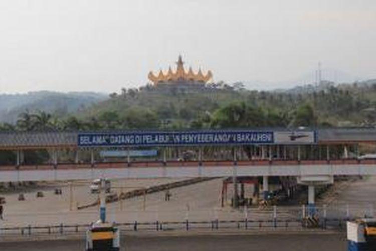 Menara Siger di Lampung.