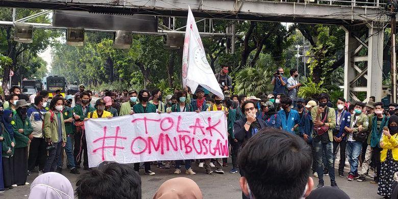 BEM SI Kembali Laksanakan Aksi Demo 10 November