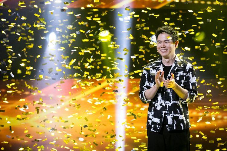 Kontestan asal Taiwan Eric Chien memenangi ajang pencarian bakat Asias Got Talent musim ketiga di Marina Bay Sands, Singapura, Kamis (11/4/2019) malam waktu setempat. Dok. AXN