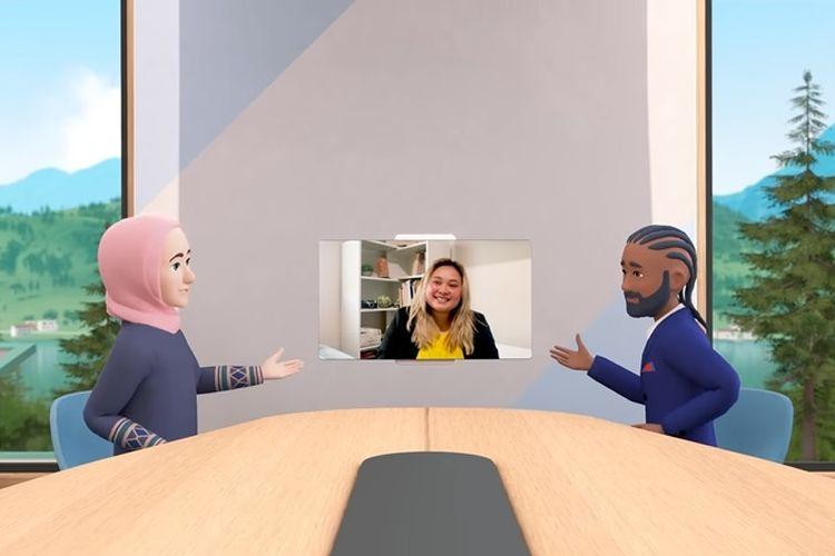 Kantor virtual berbasis VR buatan Facebook, Horizon Workrooms