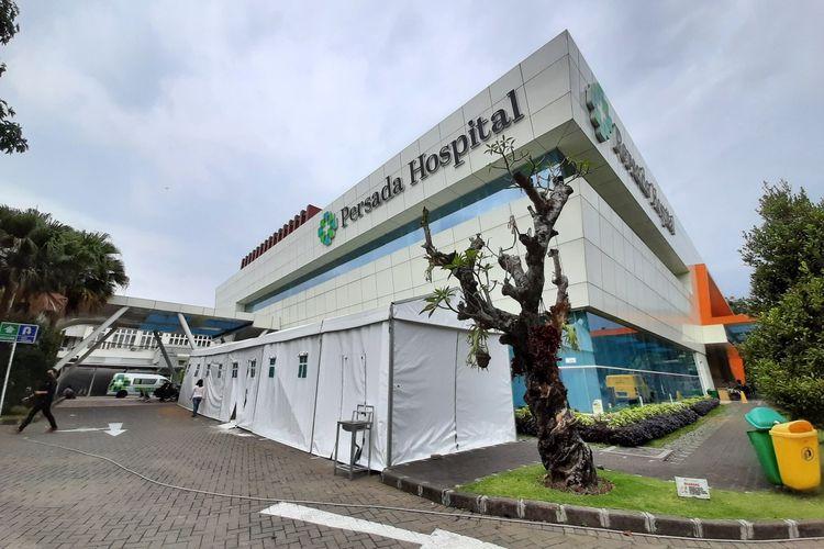 Bangunan Rumah Sakit Persada Kota Malang, Kamis (12/8/2021).