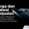INFOGRAFIK: Harga dan Jadwal Penjualan iPhone 12, iPhone 12 Mini, iPhone 12 Pro, dan iPhone 12 Pro Max