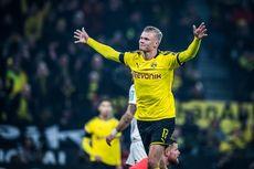 Dortmund Vs PSG, Erling Haaland di Mata Thiago Silva