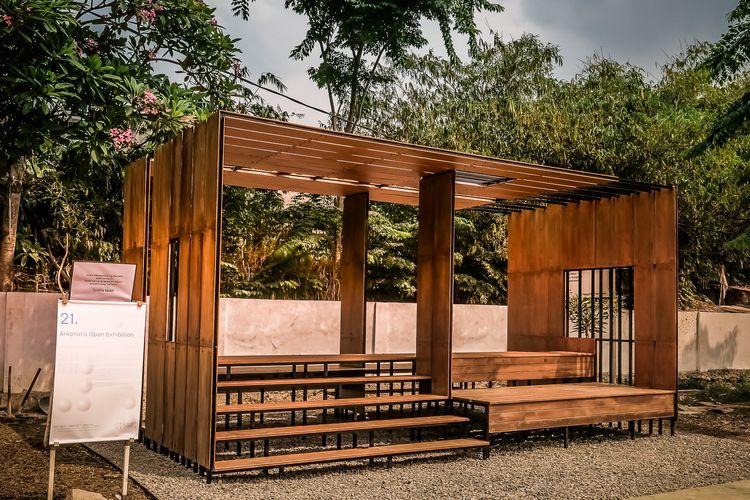 Salah satu instalasi pameran Bintaro Design District 2019 (BDD 2019) bertema Inclusivity.