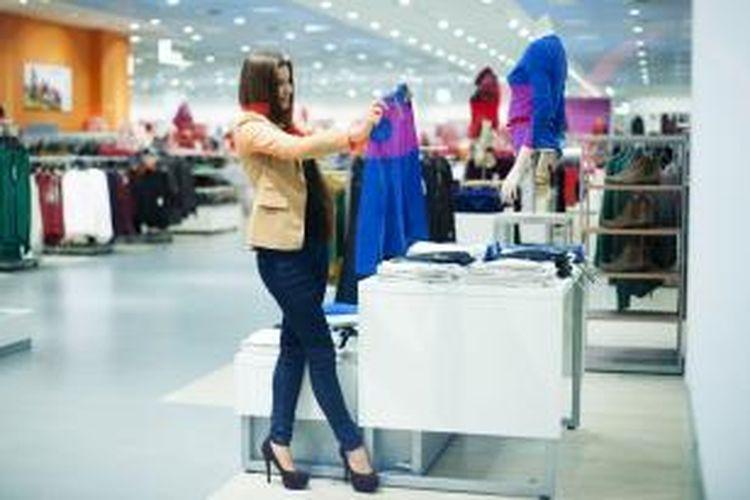 Ilustrasi shopping