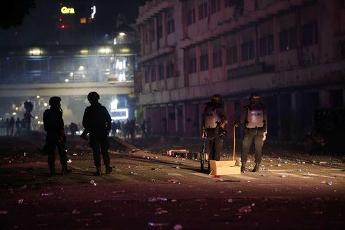 Polisi Tangkap 10 Orang Perusak Kantor Kementerian ESDM, 8 Orang Masih Anak-anak