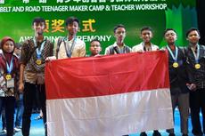 Demo Robotik, Siswa Indonesia Raih Penghargaan Internasional di China