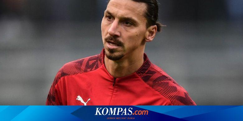 Sampdoria Vs Milan, Ibrahimovic Cetak Sejarah Unik Liga Italia