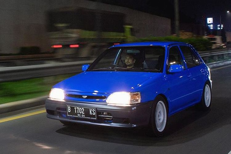 Ilustrasi Toyota Starlet