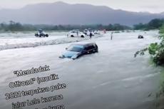 Video Viral Mobil Seberangi Sungai Disebut akibat Penyekatan Mudik, Bagaimana Faktanya?