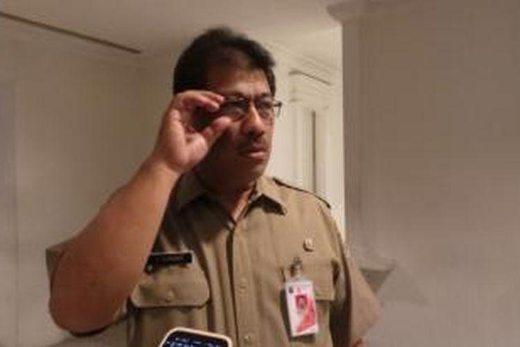 Kepala Badan Kepegawaian Daerah (BKD) DKI Agus Suradika
