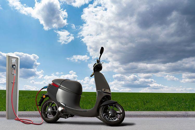 Ilustrasi motor listrik.